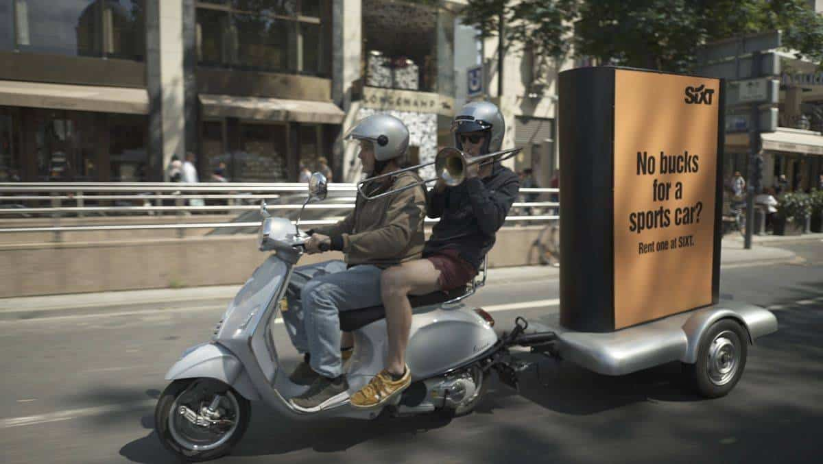 Guerilla Marketing by Sixt