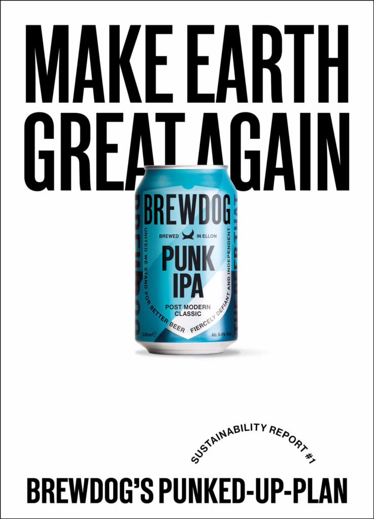 BrewDog getraenk make earth great again